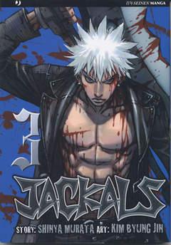 Copertina JACKALS n.3 - JACKALS                     , JPOP