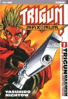 Copertina JPOP 10 ANNIVERSARY ED. n.5 - TRIGUN MAXIMUM #1, JPOP