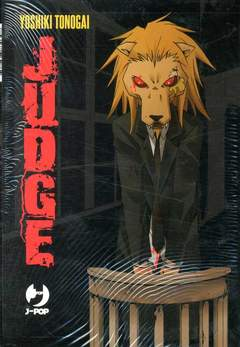Copertina JUDGE Box n. - JUDGE 1/6, JPOP