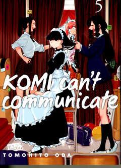 Copertina KOMI CAN'T COMMUNICATE n.5 - KOMI CAN'T COMMUNICATE, JPOP