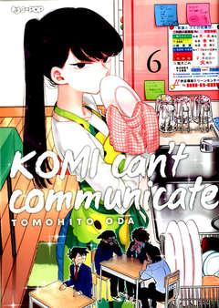 Copertina KOMI CAN'T COMMUNICATE n.6 - KOMI CAN'T COMMUNICATE, JPOP