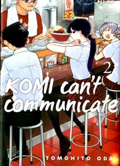 Copertina KOMI CAN'T COMMUNICATE n.2 - KOMI CANN'T COMMUNICATE, JPOP