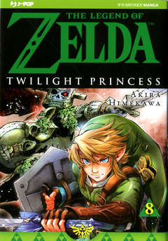 Copertina LEGEND OF ZELDA n.10 - THE TWILIGHT PRINCESS 8, JPOP