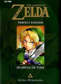 Copertina LEGEND OF ZELDA Perfect Edit. n.1 - OCARINA OF TIME, JPOP