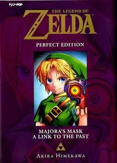Copertina LEGEND OF ZELDA Perfect Edit. n.3 - MAJORA'S MASK/A LINK TO THE PAST, JPOP
