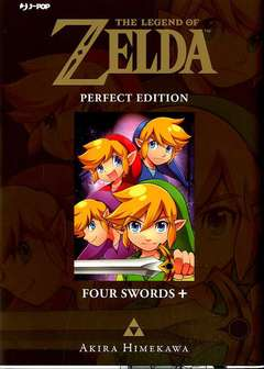 Copertina LEGEND OF ZELDA Perfect Edit. n.5 - FOUR SWORDS +, JPOP