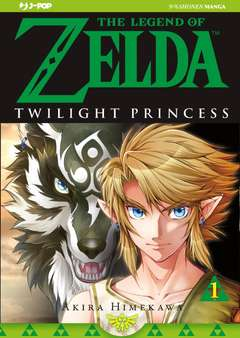 Copertina LEGEND OF ZELDA n.3 - THE TWILIGHT PRINCESS 1, JPOP