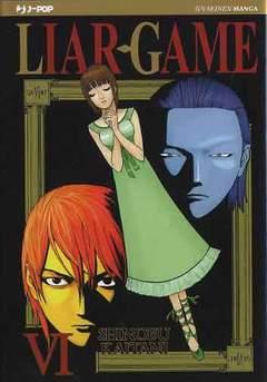 Copertina LIAR GAME (m19) n.6 - LIAR GAME , JPOP