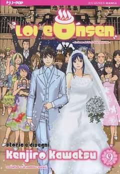 Copertina LOVE ONSEN n.9 - LOVE ONSEN, JPOP