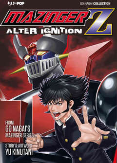 Copertina MAZINGER Z ALTER IGNITION n. - MAZINGER Z - ALTER IGNITION, JPOP