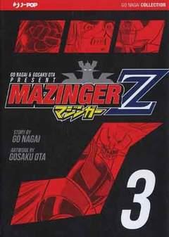 Copertina MAZINGER Z (m5) n.3 - MAZINGER Z, JPOP