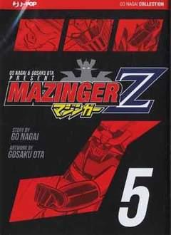Copertina MAZINGER Z (m5) n.5 - MAZINGER Z, JPOP