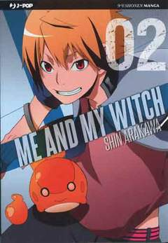 Copertina ME AND MY WITCH n.2 - ME AND MY WITCH, JPOP
