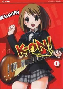 Copertina K-ON! n.1 - K-ON!, JPOP