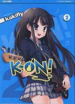 Copertina K-ON! n.2 - K-ON!, JPOP