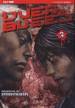Copertina OVER BLEED n.3 - OVER BLEED, JPOP