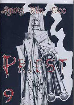 Copertina PRIEST n.9 - PRIEST, JPOP
