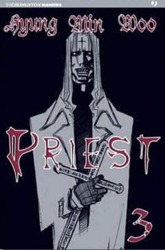 Copertina PRIEST n.3 - PRIEST                       3, JPOP