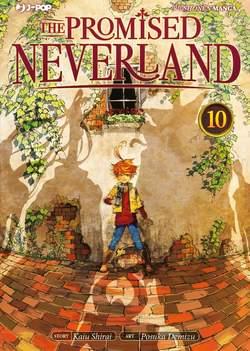 Copertina PROMISED NEVERLAND n.10 - THE PROMISED NEVERLAND, JPOP