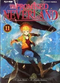 Copertina PROMISED NEVERLAND n.11 - THE PROMISED NEVERLAND, JPOP