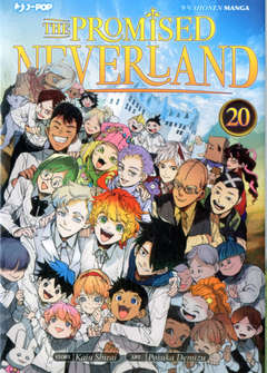 Copertina PROMISED NEVERLAND (m20) n.20 - THE PROMISE NEVERLAND 20, JPOP