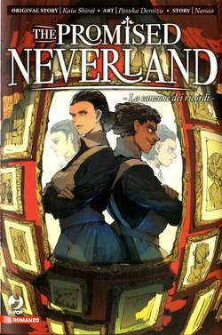 Copertina PROMISED NEVERLAND Novel n.2 - RICORDI, JPOP