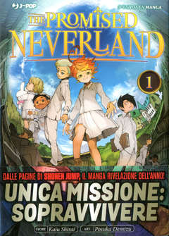 Copertina PROMISED NEVERLAND n.1 - THE PROMISED NEVERLAND, JPOP
