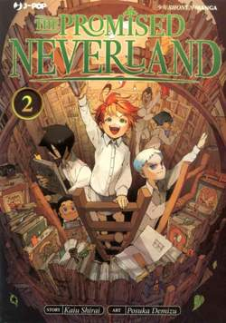 Copertina PROMISED NEVERLAND n.2 - THE PROMISED NEVERLAND, JPOP