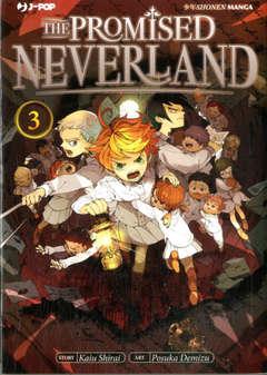 Copertina PROMISED NEVERLAND n.3 - THE PROMISED NEVERLAND, JPOP
