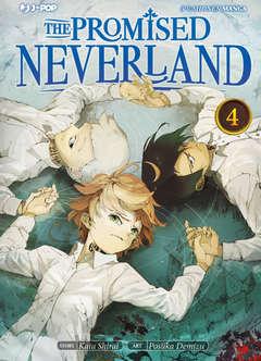 Copertina PROMISED NEVERLAND n.4 - THE PROMISED NEVERLAND, JPOP