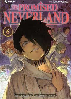 Copertina PROMISED NEVERLAND n.6 - THE PROMISED NEVERLAND, JPOP
