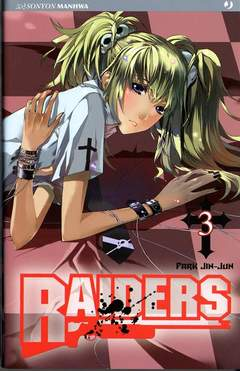 Copertina RAIDERS n.3 - RAIDERS, JPOP