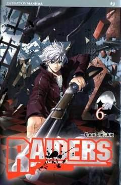 Copertina RAIDERS n.6 - RAIDERS, JPOP