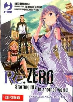 Copertina RE:ZERO Box n.1 - RE:ZERO 1-2, JPOP