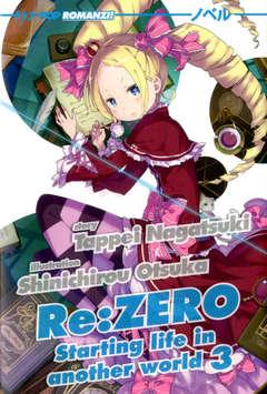 Copertina RE:ZERO Light Novel n.3 - RE:ZERO Light Novel, JPOP