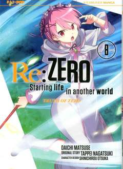 Copertina RE:ZERO - Stagione 3 (m11) n.8 - TRUTH OF ZERO, JPOP