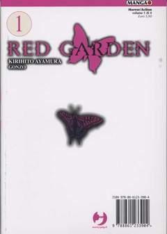 Copertina RED GARDEN n.1 - RED GARDEN, JPOP