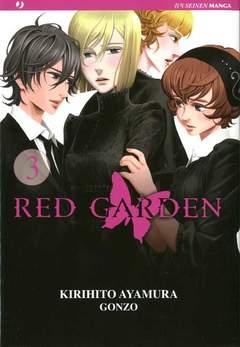 Copertina RED GARDEN n.3 - RED GARDEN, JPOP