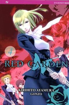 Copertina RED GARDEN n.4 - RED GARDEN, JPOP