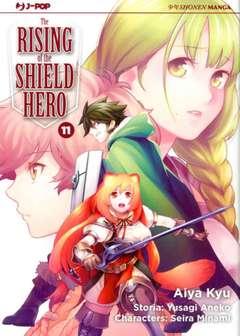 Copertina RISING OF THE SHIELD HERO n.11 - THE RISING OF THE SHIELD HERO, JPOP
