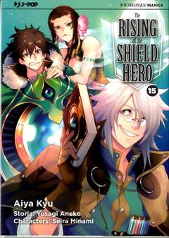 Copertina RISING OF THE SHIELD HERO n.15 - THE RISING OF THE SHIELD HERO, JPOP