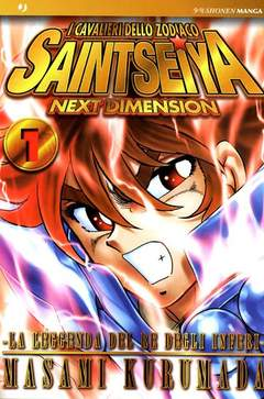 Copertina SAINT SEIYA NEXT DIMENSION n.1 - SAINT SEIYA NEXT DIMENSION 1 - GOLD EDITION, JPOP