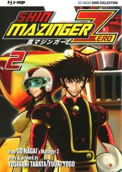 Copertina SHIN MAZINGER ZERO (m9) n.2 - SHIN MAZINGER ZERO 2, JPOP
