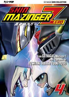 Copertina SHIN MAZINGER ZERO (m9) n.4 - SHIN MAZINGER ZERO 4, JPOP