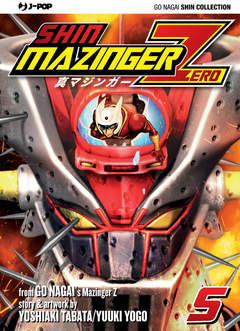 Copertina SHIN MAZINGER ZERO (m9) n.5 - SHIN MAZINGER ZERO 5, JPOP