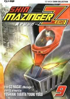Copertina SHIN MAZINGER ZERO (m9) n.9 - SHIN MAZINGER ZERO, JPOP