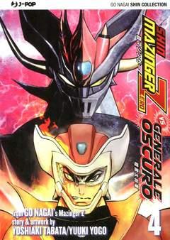 Copertina SHIN MAZINGER ZERO VS IL... n.4 - SHIN MAZINGER ZERO VS IL GENERALE OSCURO, JPOP