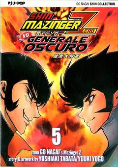 Copertina SHIN MAZINGER ZERO VS IL... n.5 - SHIN MAZINGER ZERO VS IL GENERALE OSCURO, JPOP