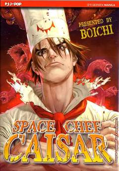 Copertina SPACE CHEF CAISAR n. - SPACE CHEF CAISAR, JPOP