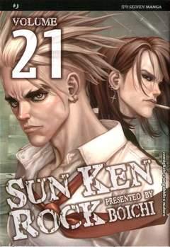 Copertina SUN KEN ROCK (m25) n.21 - SUN KEN ROCK , JPOP